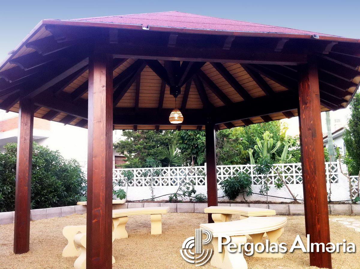 Cenador jardin cenadores de jardn cenador prgola - Carpa jardin carrefour ...