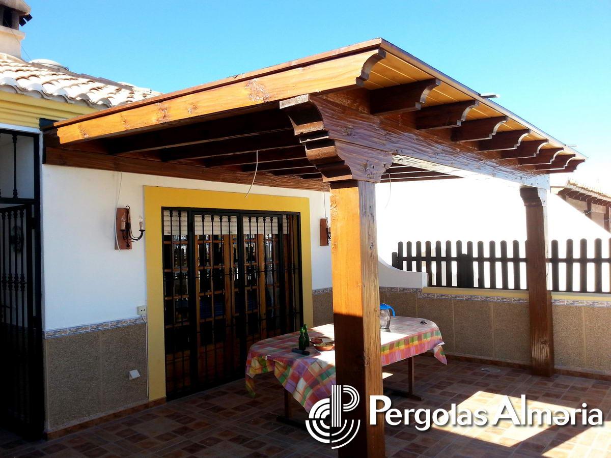 Pergolas De Madera Atico. Techos De Panel Sandwich With ... - photo#18