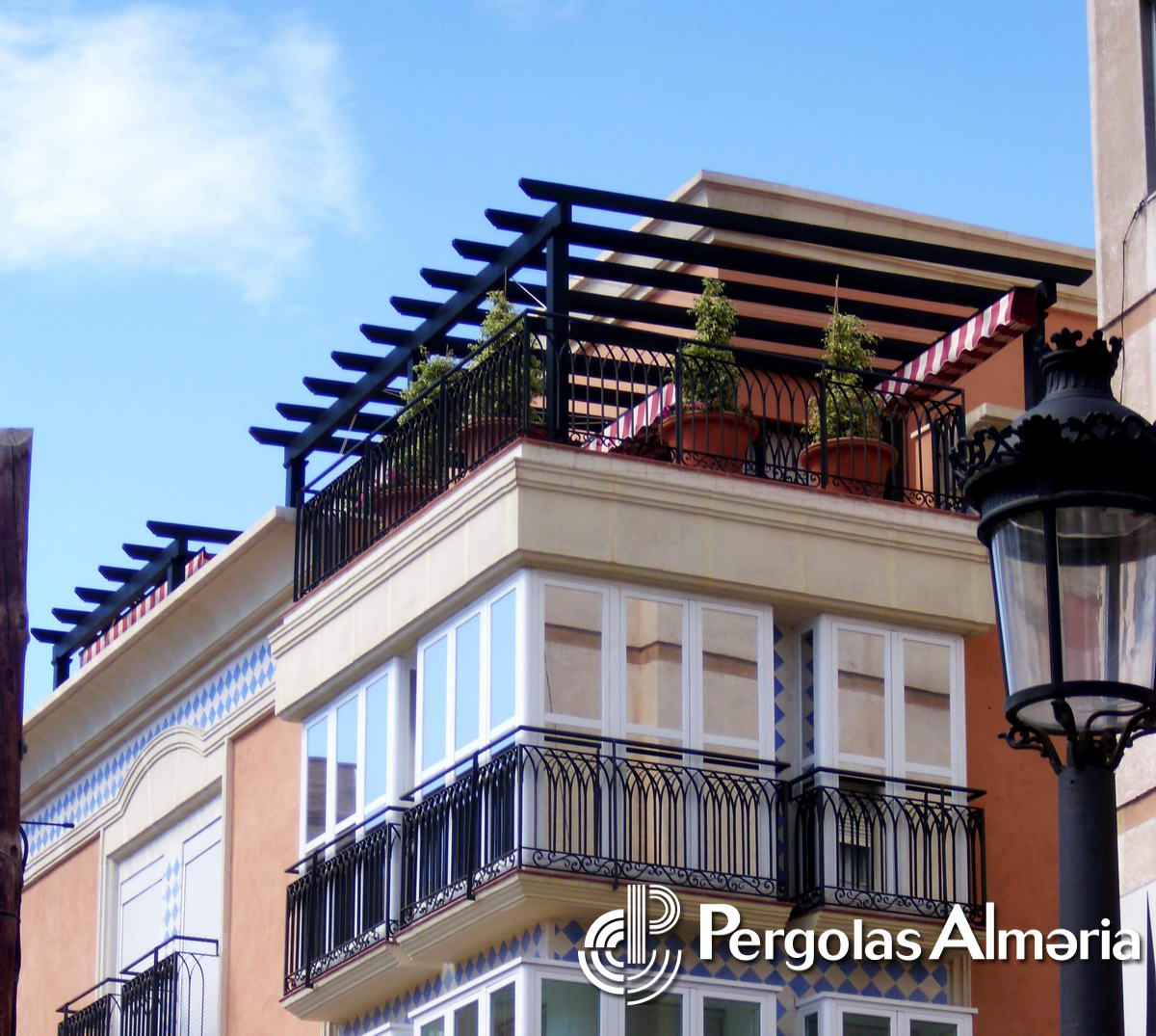 P rgolas minimalistas - Toldos pergolas para terrazas ...